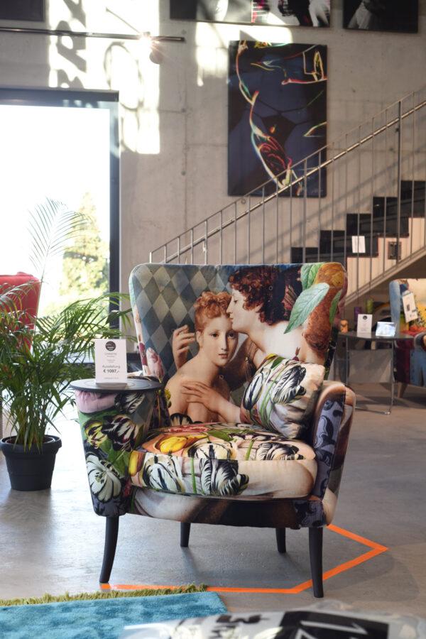 Fama Christie Sessel Ausstellungsstück