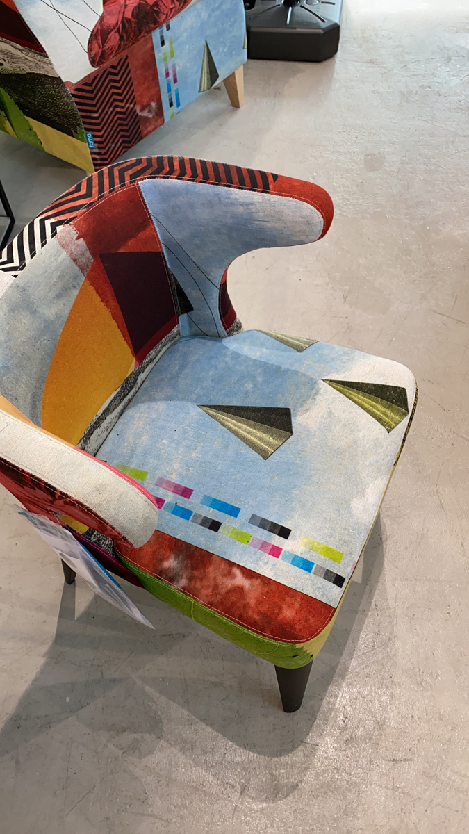 Fama Toro Stuhl Ausstellungsstück